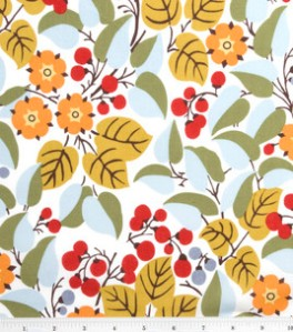 Keepsake Calico Fabric-Multi Mod Floral